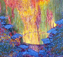 Iron Eruption (Tiger Eye) by Stephanie Bateman-Graham