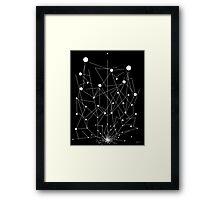 LIFE & GOALS Framed Print