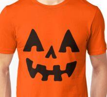 Jack-o-Lantern Face Unisex T-Shirt