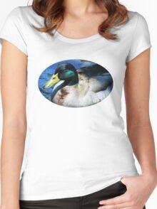 Rogue River Mallard Women's Fitted Scoop T-Shirt