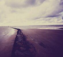 Beach- Normandie by Marie Charrois