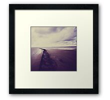 Beach- Normandie Framed Print