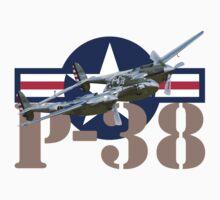 P-38 Lightning by J Biggadike