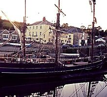 Pirate Ship at Charlestown by Nicolem1988