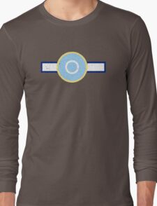 Vintage Look Royal New Zealand Air Force Roundel Long Sleeve T-Shirt