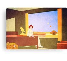 The Desert Motel Canvas Print