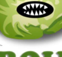 Sprouts are evil Sticker
