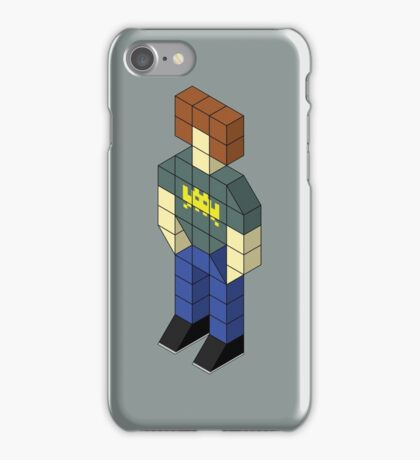 Isometric Roy iPhone Case/Skin