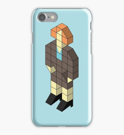 Isometric Jen iPhone Case/Skin