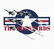 USAF Thunderbirds One Piece - Short Sleeve
