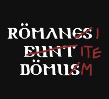Romani Ite Domum by GarfunkelArt