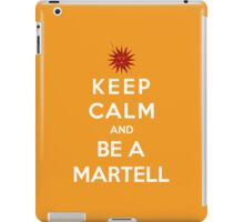 Keep Calm And Be A Martell iPad Case/Skin