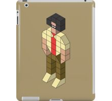 Isometric Moss iPad Case/Skin