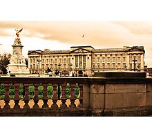A View of Buckingham Palace Photographic Print