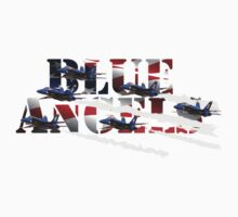 Blue Angels One Piece - Short Sleeve