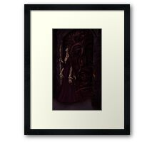 the gate and the key Framed Print