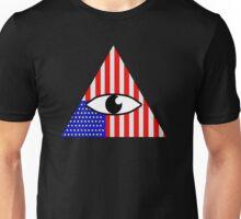 iLLUMiNATi American Flag Unisex T-Shirt