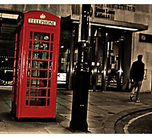 London Calling Photographic Print