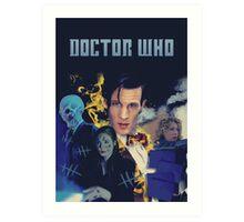 Doctor Who - season 6 Art Print