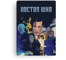 Doctor Who - season 6 Canvas Print