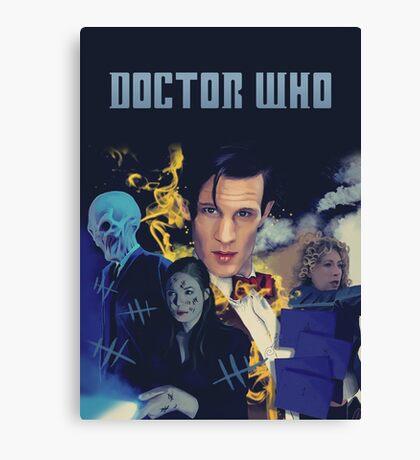 Doctor Who - season 6 Canvas Print