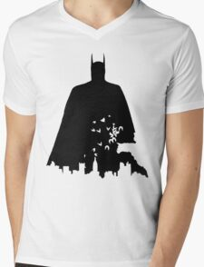 Gotham Protector Mens V-Neck T-Shirt