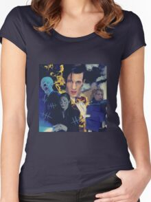 Doctor Who - season 6 Women's Fitted Scoop T-Shirt