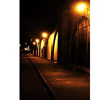 Back Street Shadows Photographic Print
