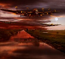 Coming Home by Nigel Hatton, Derwent Digital Imaging