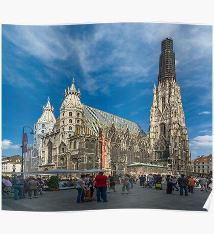 St. Stephen's Cathedral, Vienna, Austria Poster