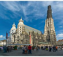 St. Stephen's Cathedral, Vienna, Austria Photographic Print