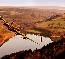 Lancaster Over Derwent by Nigel Hatton, Derwent Digital Imaging