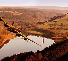 Lancaster Over Derwent by Nigel Hatton, Derwent Digital Imaging