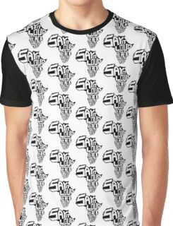 SAY IT LOUD: Africa Graphic T-Shirt