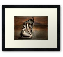 THE SAMURAI'S DAUGHTER Framed Print