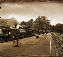 Welsh Highland Railway by eddiej
