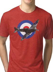 Supermarine Spitfire Tri-blend T-Shirt