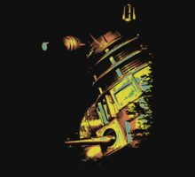 Dalek Beta – Gold by Steven Miscandlon