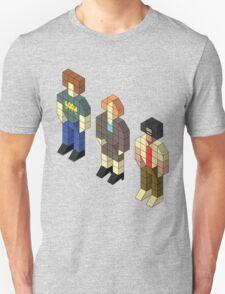 Isometric IT Crowd Trio Unisex T-Shirt