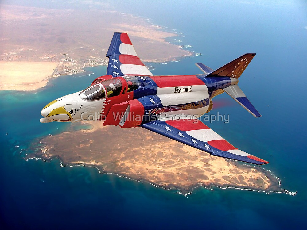 McDonnell Phantom F4-J  - 'Bicentennial' by Colin  Williams Photography