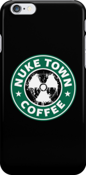 Nuketown Coffee by Royal Bros Art