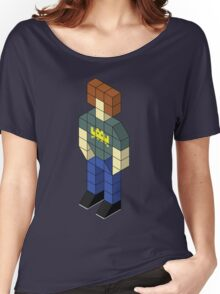 Isometric Roy Women's Relaxed Fit T-Shirt