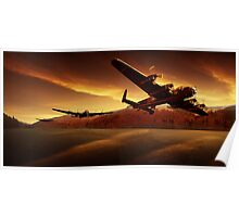 Lancasters in the Silent Valley Poster