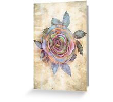The Friendship Rose II Greeting Card