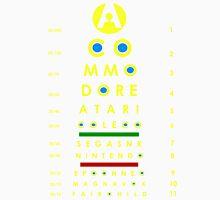 arcade eye chart Unisex T-Shirt