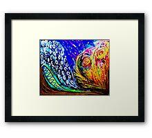 Earth, Wind, Water & Fire Framed Print