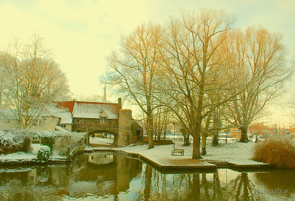 Pull's Ferry, Norwich, England by Joanna Rice