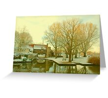 Pull's Ferry, Norwich, England Greeting Card