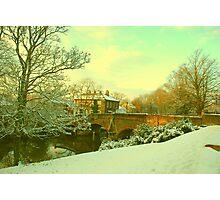 Bishop's Bridge, Norwich, England Photographic Print