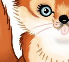 Fancy Fox Sticker